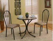 Sunset Trading 3 Piece Linen Dinette Set - Sunset Trading Product Image