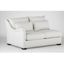 Westley One Arm Loveseat