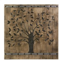 Tree of Life Wood Wall Panel