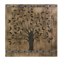 Tree of Life Wood Wall Panel