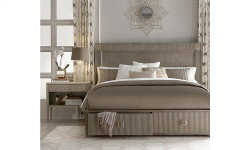 Cityscapes California King Hudson Storage Bed