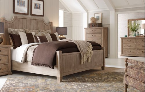 Monteverdi by Rachael Ray Complete Low Post Bed, CA King 6/0