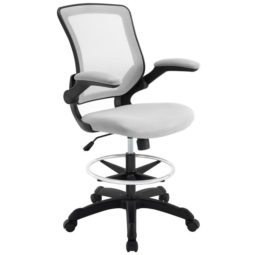 Veer Drafting Chair in Gray