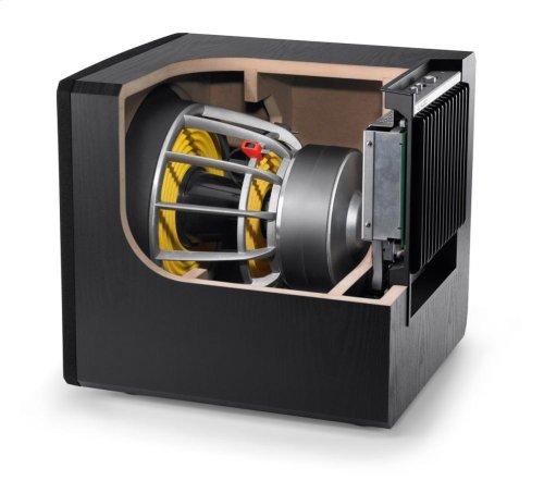 12-inch (300 mm) Powered Subwoofer, Black Ash Finish