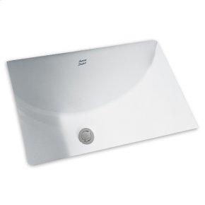 White Undercounter Sink