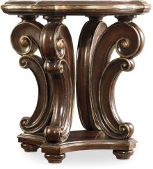Grand Palais Round End Table