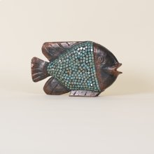 Wooden Mosaic Fish