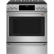 "30"" Smart Slide-In, Front-Control, Induction and Convection Range with Warming Drawer"