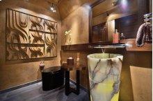 Veneto Pedestal Sink Multi Color Onyx