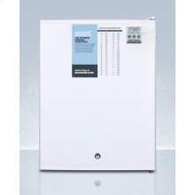 Compact All-refrigerator With Automatic Defrost, Digital Thermostat, Internal Fan, Nist Calibrated Thermometer, and Lock; Replaces Ff28lwhplus