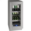 """U-Line 5 Class 15"""" Refrigerator With Stainless Frame Finish And Field Reversible Door Swing (115 Volts / 60 Hz)"""