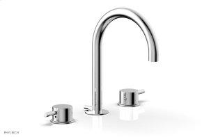BASIC II Widespread Faucet 230-04 - Polished Chrome