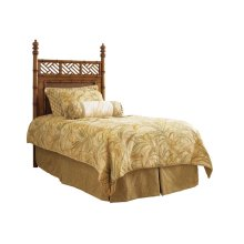 West Indies Headboard Twin Headboard