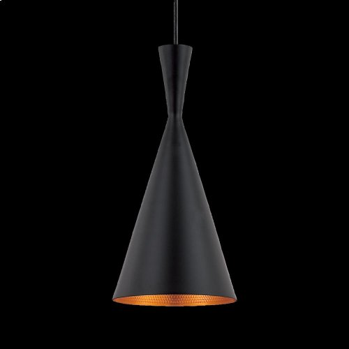1-LIGHT PENDANT - Black