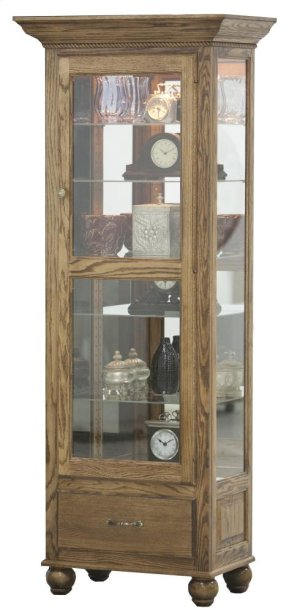 Tall Lighted Curio