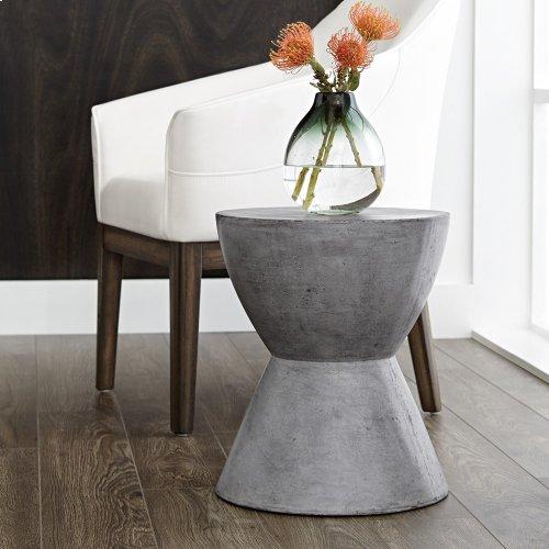 Logan End Table - Grey