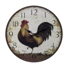 ROOSTER CLOCK - LARGE
