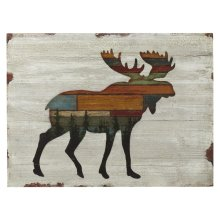 Moose Silhouette Wall Decor