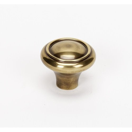 Classic Traditional Knob A1561 - Polished Antique