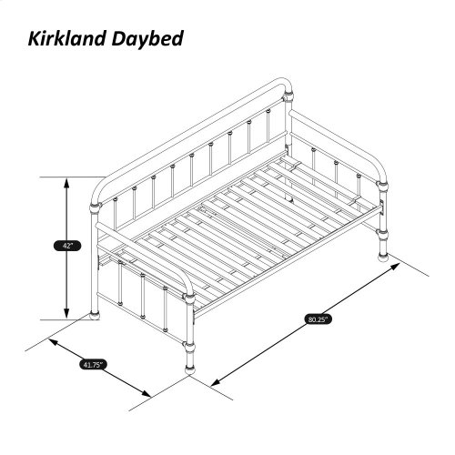Kirkland Daybed With Frame and Trundle - Oiled Bronze