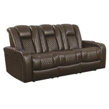 Delangelo Brown Power Motion Reclining Sofa