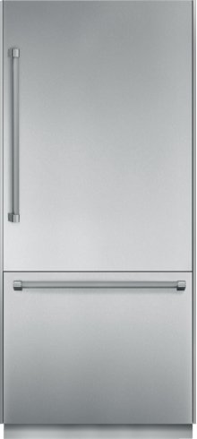 36 inch Pre-Assembled Built-In Bottom-Freezer T36BB820SS