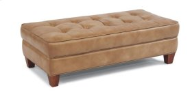 Nash Leather Rectangular Cocktail Ottoman