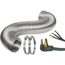 Dryer Duct Kit (3 Wire, With 6ft Cord)