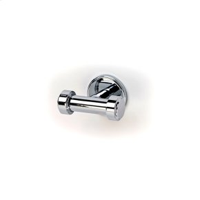 Double Robe Hook Darby (series 15) Polished Chrome