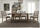Opt 5 Piece Trestle Table Set Product Image