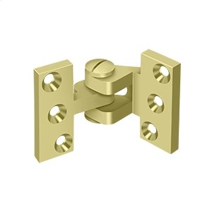 Intermediate Hinge - Polished Brass