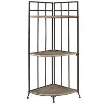 """Driftwood Iron"" 3 Corner Shelf"