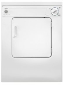 Whirlpool® 3.4 cu.ft. Compact Electric Dryer with AccuDry Drying System
