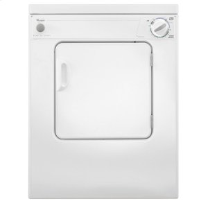 Whirlpool3.4 cu. ft. Compact Top Load Dryer with Flexible Installation