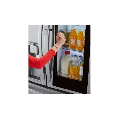 23 cu  ft  Smart wi-fi Enabled InstaView Door-in-Door® Refrigerator