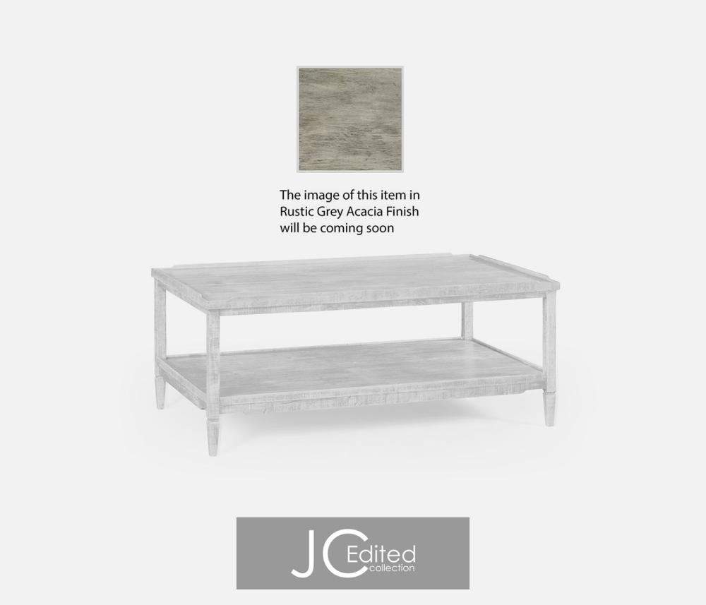 Rustic Grey Coffee Table Hidden