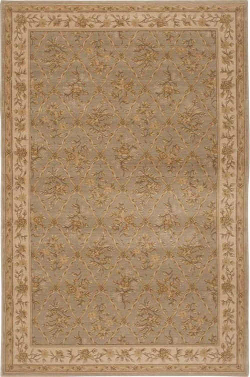 Hard To Find Sizes Newport Nw01 Mist Rectangle Rug 6' X 9'
