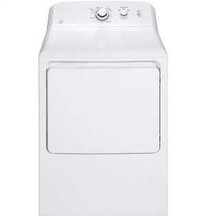 GE® 7.2 cu. ft. Capacity aluminized alloy drum Electric Dryer Product Image