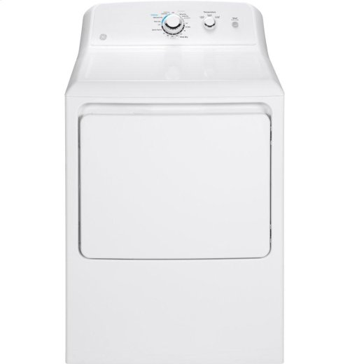 GE® 7.2 cu. ft. capacity aluminized alloy drum electric dryer