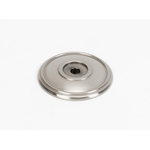Classic Traditional Rosette A1564 - Satin Nickel