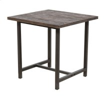 Lamp Table, Available in Black Wash Finish Only.