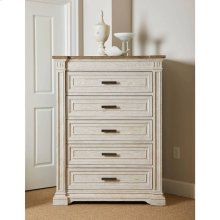 Portico Drawer Chest - Shell