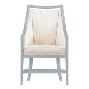 Resort By the Bay Host Chair In Sea Salt