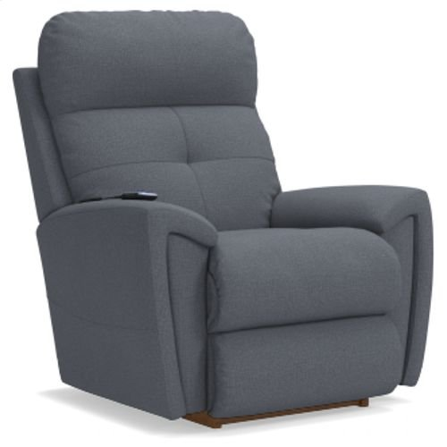 Douglas Power Rocking Recliner w/ Head Rest & Lumbar