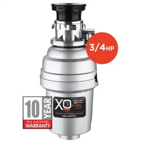 3/4 HP 10 Year Warranty, Batch Feed waste disposer
