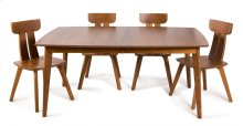 "45/68 w/1 20"" Leaf Galley Four Legged Table"