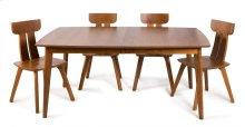 """45/68 w/1 20"""" Leaf Galley Four Legged Table"""