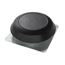 Attic Ventilator, Black Dome, 1050 CFM.