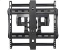 "Full-Motion Wall Mount Dual extension arms for 42"" - 90"" flat-panel TVs - extends 28"" / 71.12 cm - Black Product Image"