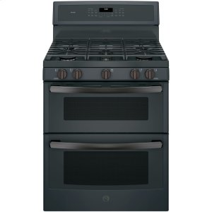 """GE Profile30"""" Free-Standing Gas Double Oven Convection Range"""